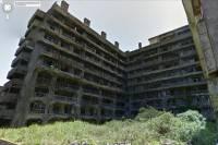 007 空降危機場景日本軍艦島已被收錄在 Google Street View 中